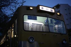 くめがわ電車図書館では不定期にイベントが開催されています。イベント時には現役時代に近い姿に装飾がされることもあります。