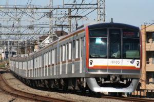 東京メトロ10000系西武線内ハンドル訓練【試運転】