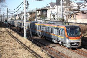 【西武池袋線東久留米~清瀬間】17000系17102F上り試運転電車