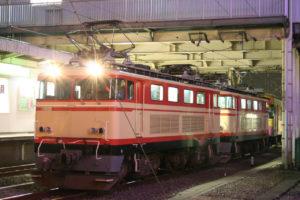 2007年3月27日に行われた西武9000系のVVVF化工事の出場甲種輸送(牽引はE33とE34)