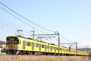 西武新2000系2461F