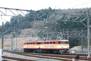 武蔵丘車両基地の西武E31形