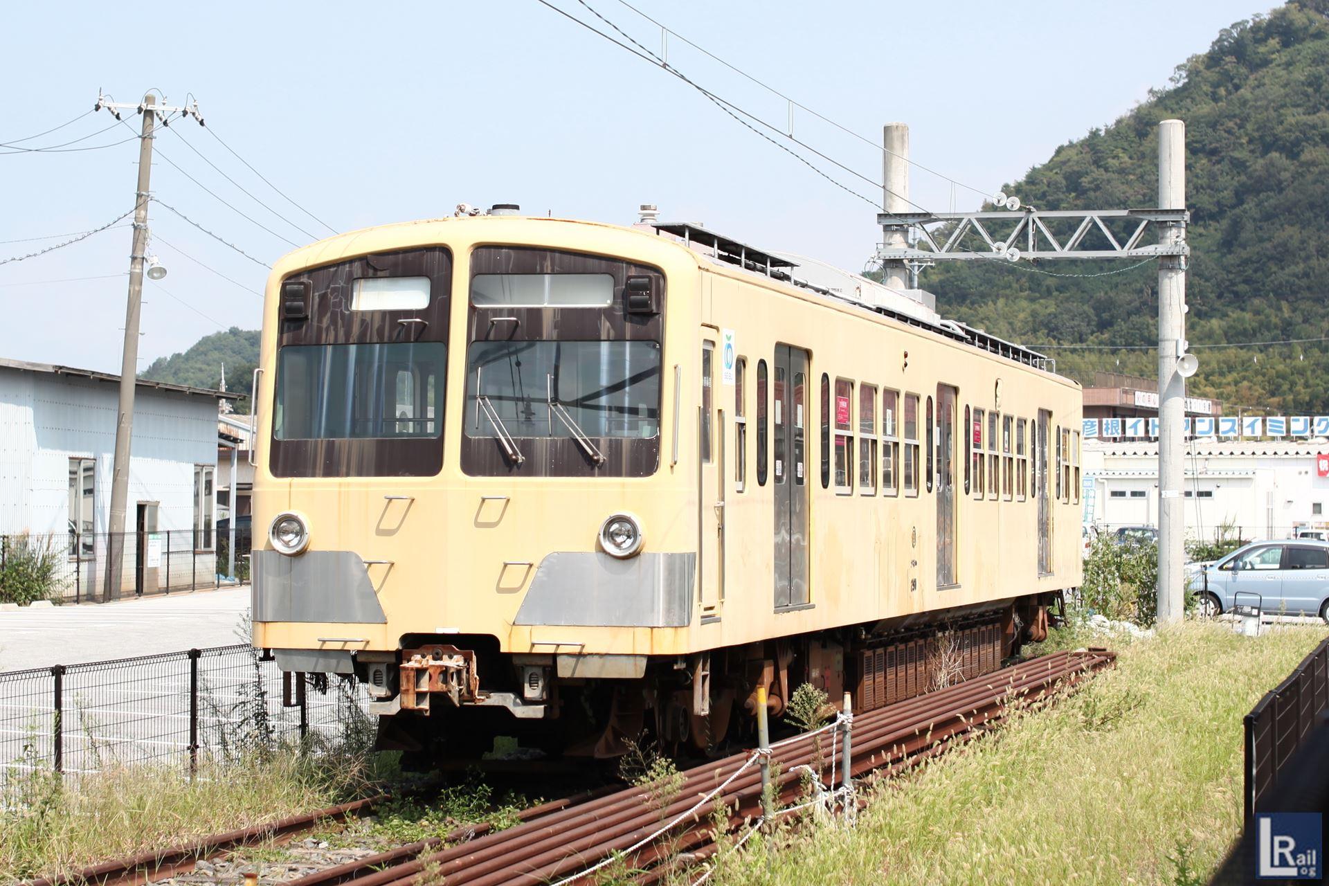 近江鉄道に渡った291Fのクモハ291